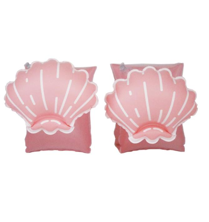 Schwimmfluegel Muschel Rosa