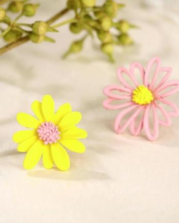 Ohrringe Daisy Bi Color