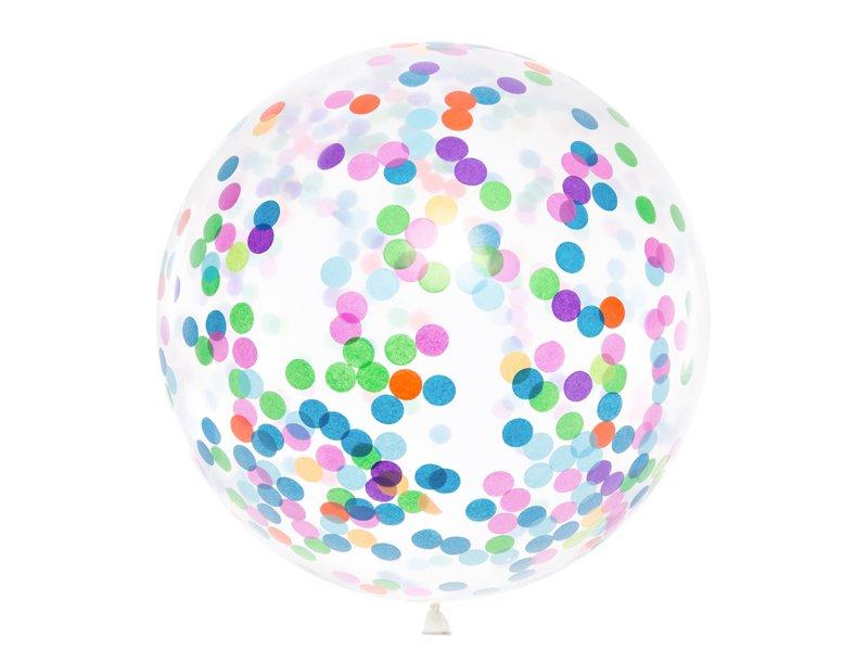 Riesenballon bunte Confetti