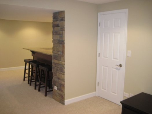 Basement Remodeling Doors Ceiling Carpeting