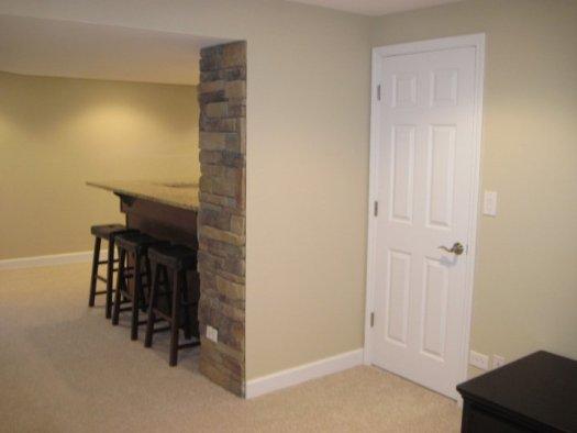 Basement Remodeling Doors Ceiling Carpeting