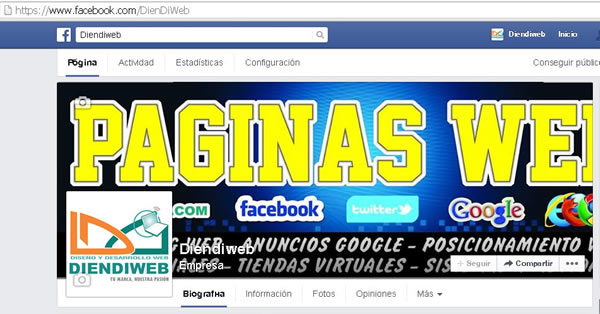 facebook url amigable