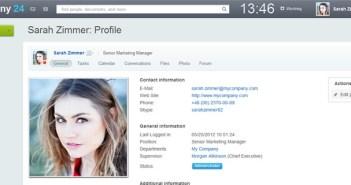 Bitrix24 herramienta web para crear una intranet personal