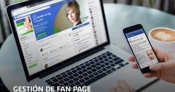 Gestión de Fanspage en Chiclayo