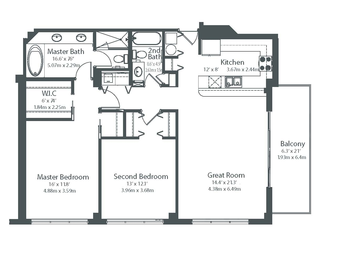 Miami Luxury Condos Floor Plans