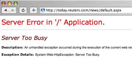 Reuters Overload
