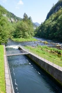 Kleine historische Wasserkraftwerke