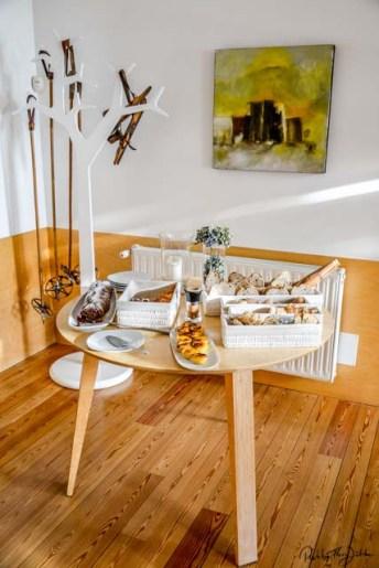 Frühstück wie zuhause mit viel Atmosphäre. Foto: Flora Jädicke