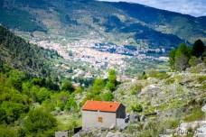 Blick auf das Dorf Manteigas. Foto: Flora Jädicke