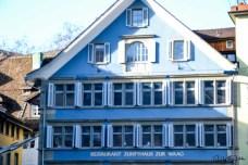 Zunfthaus zur Waag, in der Hugo Ball sein Manifest las. Foto: Flora Jädicke