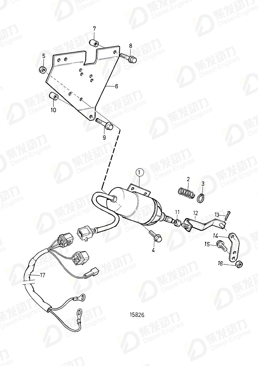 Control solenoid kit 876593 price,VOLVO,Controls spare