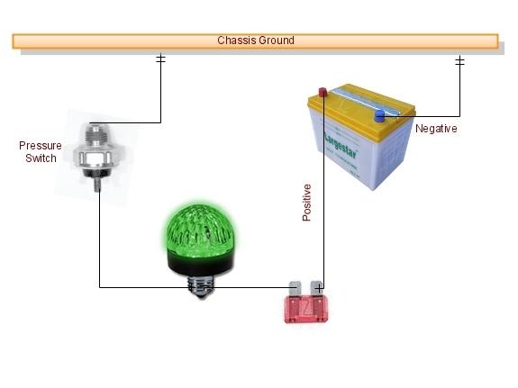 cummins pump low pressure switch installation