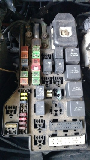 98 dodge 12 valve fuse box  Diesel Bombers