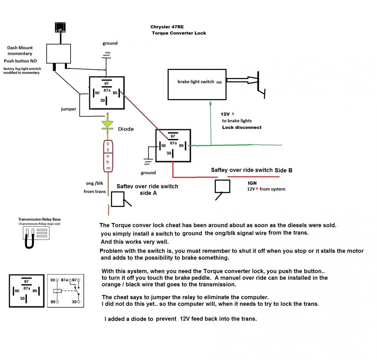 47rh lockup wiring diagram 2 awe capecoral bootsvermietung de \u202247rh lockup wiring diagram wiring diagram rh 16 geschiedenisanders nl 47re wiring diagram dodge 47rh transmission diagram