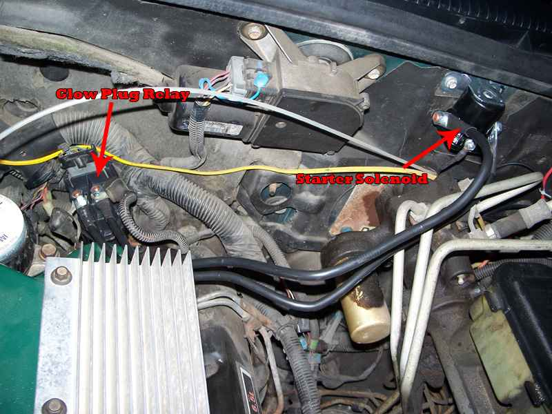 97 Chevy Alternator Wiring Diagram How To Make Glow Plug Switch Manual Operated Diesel