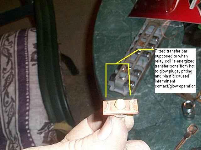 1990 Chevy Headlight Wiring Diagram Glow Plug Relay Problems Diesel Bombers