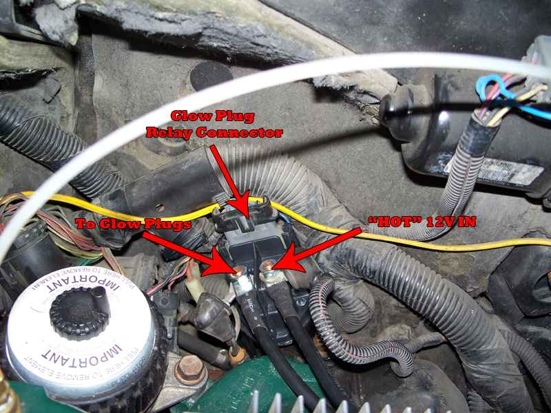 7 3 Idi Parts Diagram No Glow Plug Light Page 2 Diesel Bombers