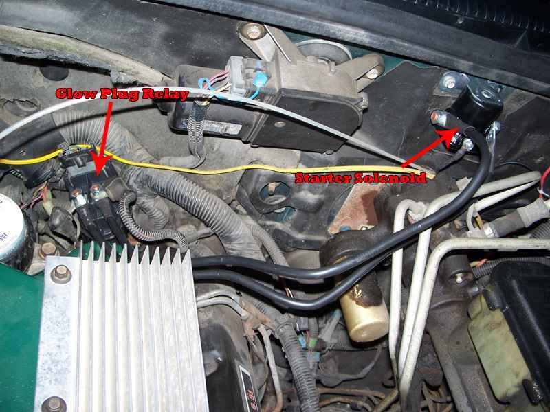 83 Chevy Alternator Wiring Diagram No Glow Plug Light Page 2 Diesel Bombers
