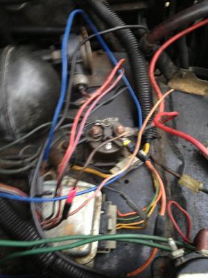 1984 F250 69, relay wiring  Diesel Bombers