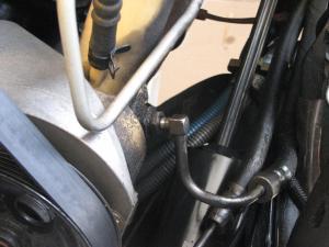 power steering leak power brakes lost  Diesel Bombers
