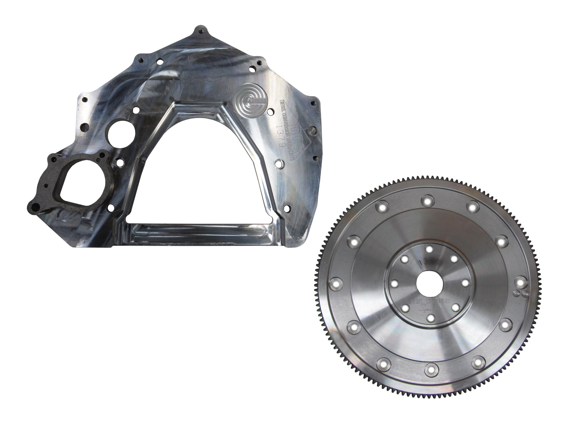 hight resolution of adapter plate and flex plate 12v 24v to turbo 350 400 700r4 4l60e 4l80e requires ford 6 0l starter