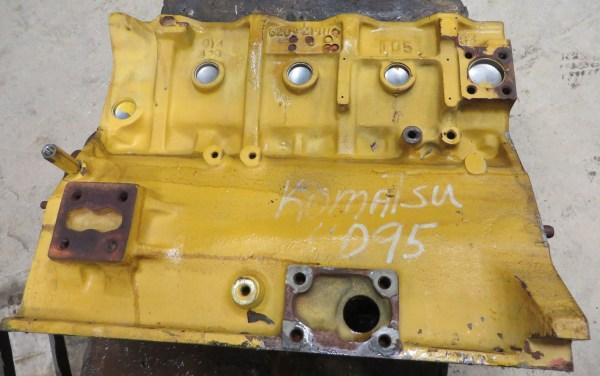 Pc138 Komatsu Engine Block - Year of Clean Water