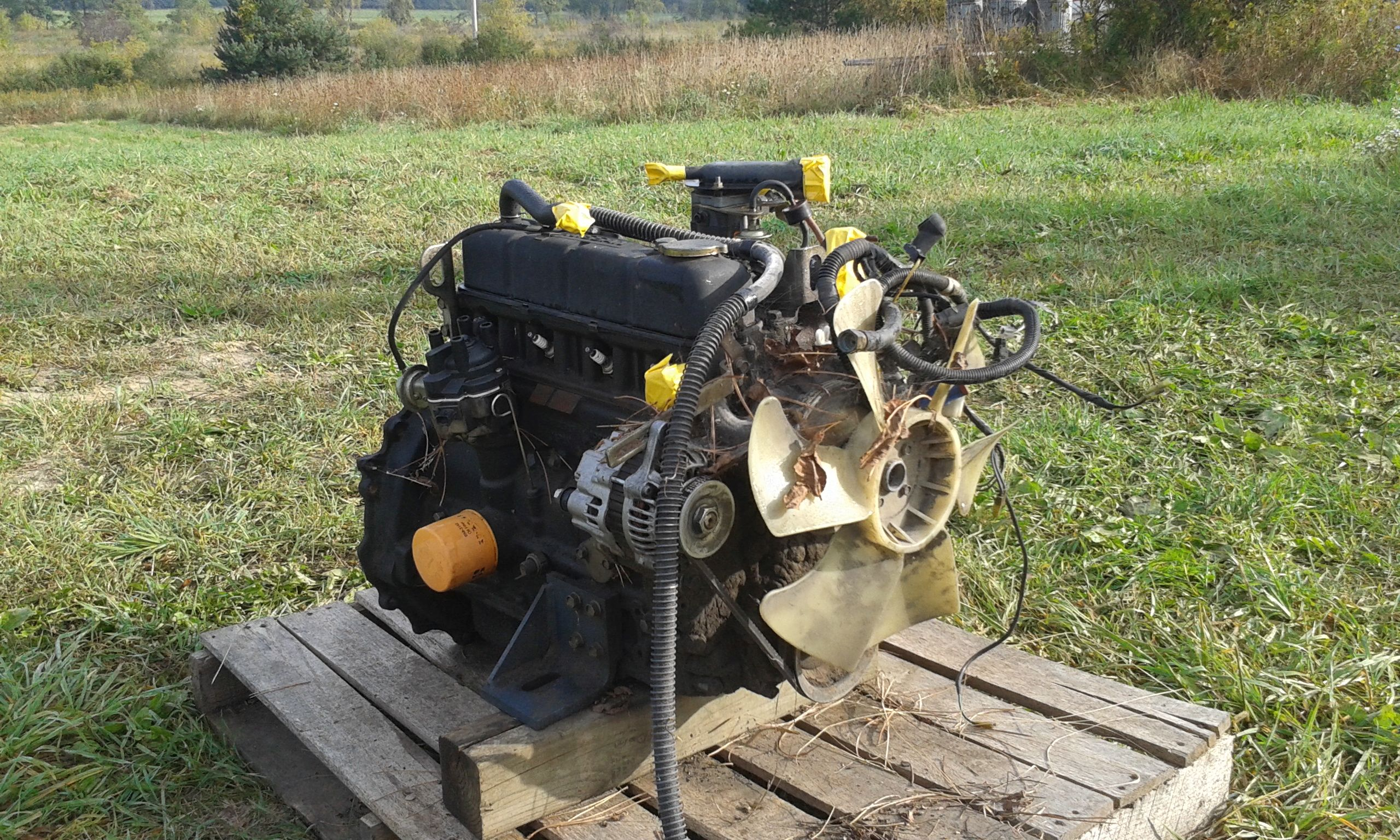 Nissan Ns H20 Engine Complete Core Esn H20k Y 4 Cyl