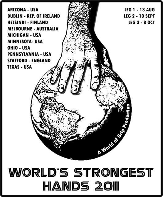 World's Strongest Hands 2011- Eastern US / Pennsylvania