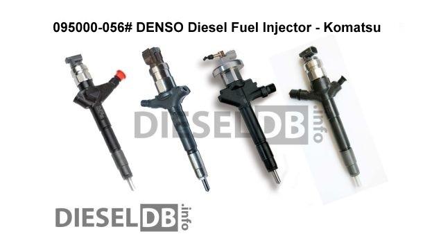 095000-0560 DENSO Diesel Fuel Injector ‹ DieselDB