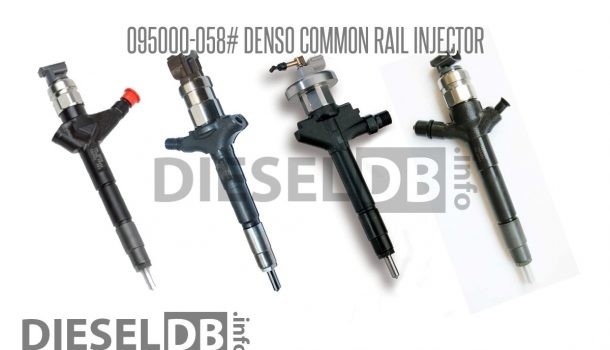 095000-058# Denso Common Rail Injector ‹ DieselDB