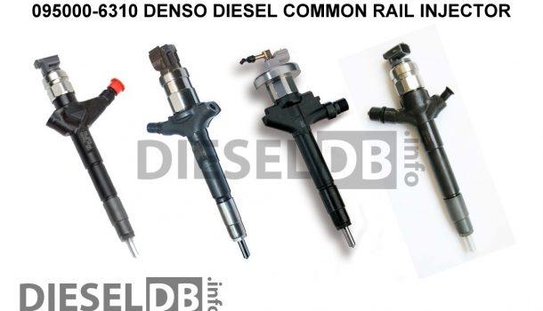 095000-6310 DENSO DIESEL COMMON RAIL INJECTOR ‹ DieselDB