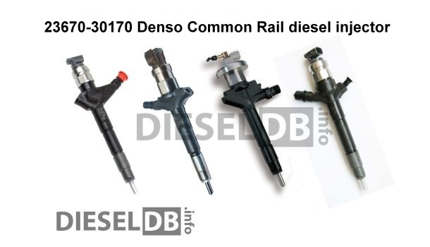 23670-30170 Denso Common Rail diesel injector ‹ DieselDB