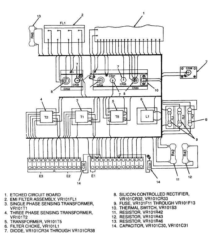 Figure 5-10. Voltage Regulator VR101, Diagram