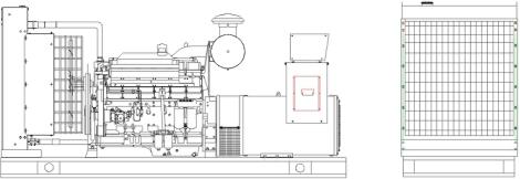 400KW 500KVA Doosan Daewoo Diesel Generator Supplier