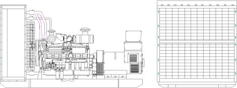 Cummins Diesel Generator Set 1200KW Manufacturer, Supplier