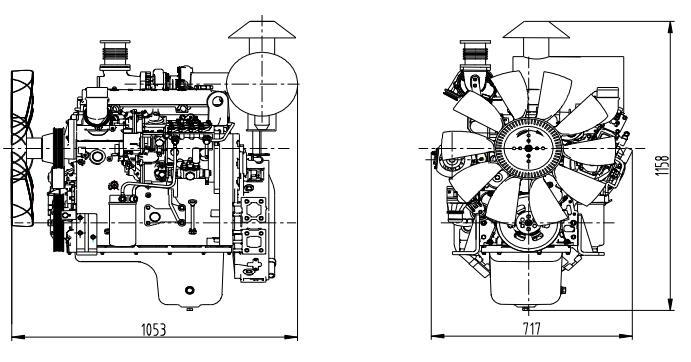 Shangchai Generator SC4H160D2 Technical Parameters