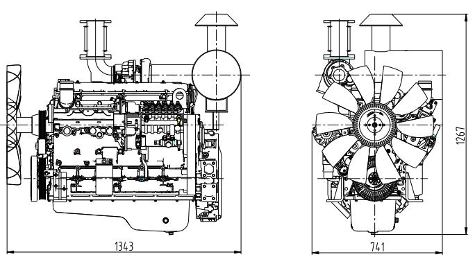 Shangchai Diesel Generator H Series Engine Features and