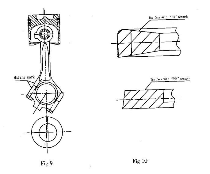 Deutz Crank Shaft and Connecting Rod Mechanism