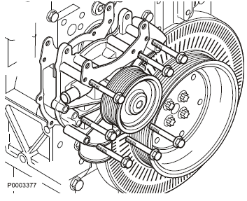 Coolant Pump and Thermostat of Volvo Diesel Engine