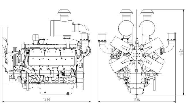 385KW Shangchai Silent Diesel Generator SC25G610D2 Datasheet