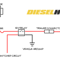 Battery Isolator Wiring Diagram Tempstar Split Charge Trailer Circuit Guide Connected To Alternator