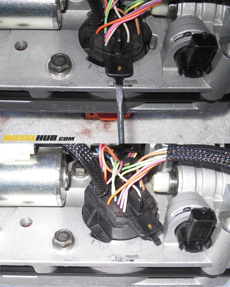 medium resolution of remove electrical connector from solenoid body