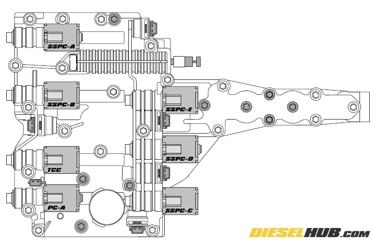 2002 Ford Explorer Transmission Wiring Diagram