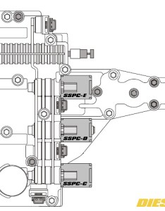 torqshift solenoid location map also shift replacement guide rh dieselhub