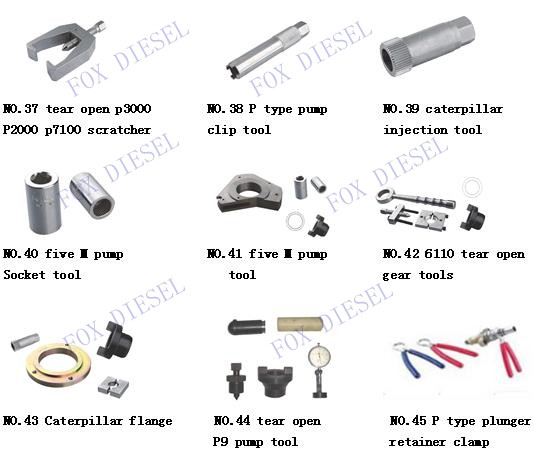 Tools for mechanial BOSCH Inline and VE pumps(full catalog)