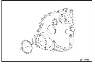 Cummins N14 – Crankshaft Seal, Front – Removal