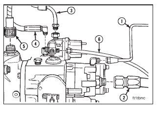 Cummins N14 – Fuel Pump – Removal