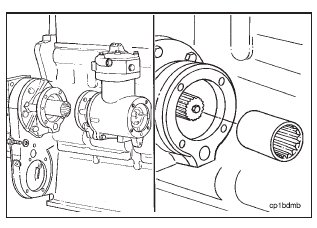 Cummins N14 – Air Compressor – Removal