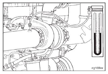 Cummins N14 – Exhaust Air Restriction