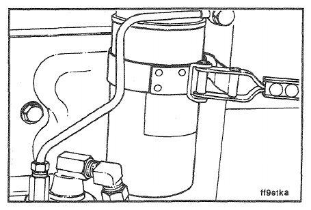 Cummins 4BT – Fuel Filter – Replacement